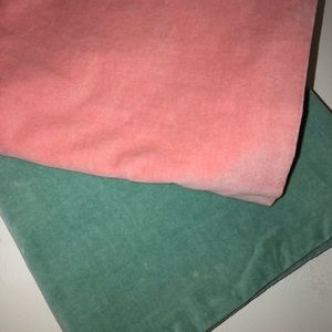 Pastel color set of 2 Pillow Covers